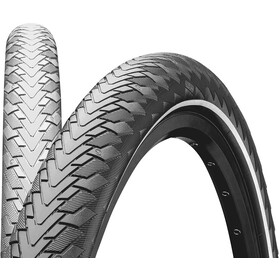 "Continental Contact Cruiser Wired-on Tire 28"" E-25 Reflex, grey"